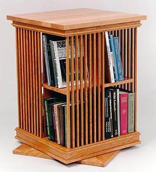 Image Of Revolving Bookcase Hardware Source · Prairie Revolving Bookcase  Swartzendruber Furniture Creations