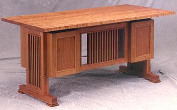 Prairie Library Desk # 2440