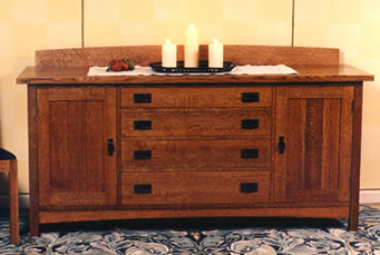 Craftsman Buffet Swartzendruber Furniture Creations